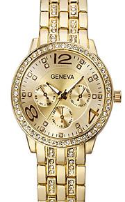 relógio das mulheres, incrustada de cristais, tira, Genebra, relógio de quartzo, relógios masculinos, relógios femininos, relógios de