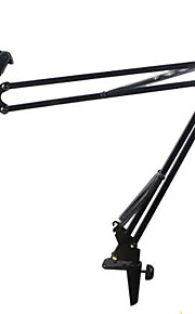 Microphone Suspension Boom Scissor Arm Stand Holder for Studio Broadcast Recording Stents