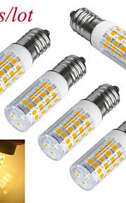 5 stk. Jiawen E14 3W 51 SMD 2835 240-300 lm Varm hvit / Kjølig hvit T Dekorativ LED-kornpærer AC 220-240 V