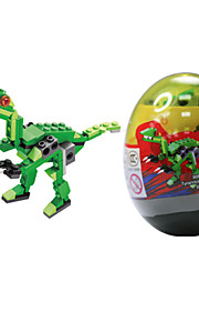 dr 6304 brinquedos lego novo le dinossauro torcido bloco bloco de ovo quebra-cabeça para manter brinquedos infantis montados