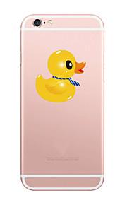 고무 아이폰에 대 한 패턴 소프트 TPU 전화 케이스 오리 6 / 6S / 6 플러스 / 6S 플러스