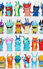 2016 novos 24pcs / set 5 centímetros cartoon slugterra mini-pvc bonecos figuras de ação brinquedos criança brinquedos