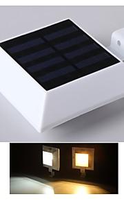 vanntett vegg lys pir menneskekroppen motion sensor lampe oppladbart solenergi lys vegglampe hagen veggen