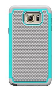 pc + silikone dual layer stødsikker robust taske til Samsung Galaxy Note 3 / note 4 / note 5 (assorterede farver)