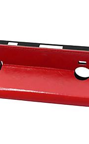 estilo de la carpeta cubierta de la tapa con la ranura para tarjeta para el caso de Nokia 950 xl caso de la manera loca del caballo