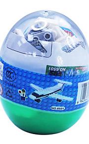 dr lastbil 6505, le byggesten trafik blokke snoet æg pædagogisk legetøj samlet 69 pcs