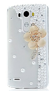 LG G3 Plastica Custodia posteriore Grafica / Design speciale / Diamanti / Trasparente copertura della cassa
