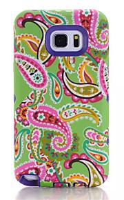 cartoon zachte TPU siliconen transparante telefoon geval voor Samsung Galaxy Note 5 bloemen bedrukte plastic beschermhoes