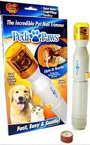מטחנת גוזם ציפורני כלב כלי חיית מחמד גוזז חתול וכלב חשמלי שחיקה מכשיר