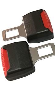 ZIQIAO Universal General Car Truck Van Safety Belt Buckle Adjustable Seat Belts Buckles Extender Accessories