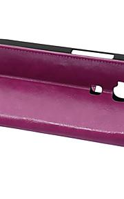 couvercle rabattable style portefeuille avec fente pour carte cas huawei g8 cas mode crazy horse texture (couleurs assorties)