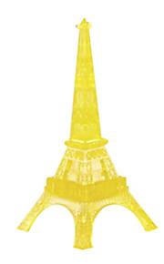 Blocos 3d DIY Torre de Cristal Eiffel de Paris enigma crianças brinquedos educativos criativa pequenos brinquedos ornamento sem luz