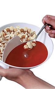 Plastic Handy Gourmet Krispy Bowl Flavor Separated Seasoning Bowls