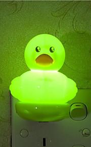creatieve warm wit licht sensor eend met betrekking tot kindje slaap 's nachts licht (assorti kleur)