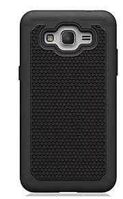 pc + silikone dual layer stødsikker robust Taske til Samsung Galaxy galaxy kerne prime / grand prime (assorterede farver)
