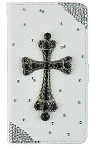 iphone6 / 기가 / 6plus / 6splus에 대한 카드 소지자와 매우 얇은 수제 블링 크리스탈 다이아몬드 합성 가죽 지갑 케이스