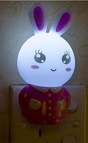 creatieve warm wit konijn lichtsensor met betrekking tot kindje slaap 's nachts het licht