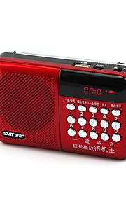 Multifunction N-518 Digital Song Card Small Stereo Radio Portable Player