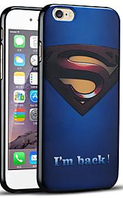 Superman Returns beskyttende bakdekselet myk iphone case for iphone 6s / iphone 6