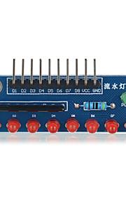8-sifret ledet MCU vann lampemodulen for Arduino - blå egnet for Arduino vitenskapelig forskning
