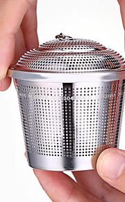 304 rustfritt stål te blad krydder beholder (l)
