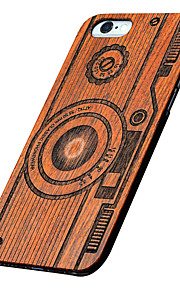Ultra Thin Wooden Camera Protective Back Cover Hard iPhone PC Case for iPhone SE/iPhone 5S/iPhone 5