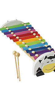 madeira amarela mão da criança bater piano para crianças instrumentos de brinquedo todos musical