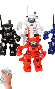 Happycow Robots Preta / Branco / Vermelho / Azul Robô Controle de radio Inglês