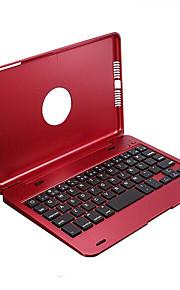 touchpad ultra delgado bluetooth 2en1 caso plegable titular de la cubierta de la base 3.0 teclado inalámbrico para el mini iPad 1 2 3