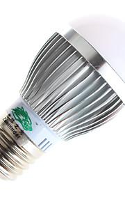 3W GU10 / E26/E27 LED-globepærer A60(A19) 6 SMD 5730 280lumens lm Varm hvit / Naturlig hvit Dekorativ AC 85-265 V 1 stk.