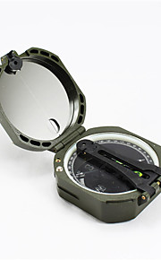 Compasses Pocket / Multi Function / Convenient Hiking / Camping / Travel / Outdoor Alloy Green