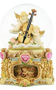 abs guld kreativ romantisk musik boks til gave