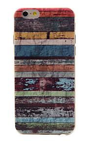 TPU material färg ihåliga mönster mjuk telefon fallet för iphone6 / 6s / 6 plus / 6s plus