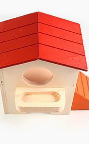 pet hamster dobbelt kahytter små kæledyr farve hus 1 peece