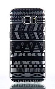 caso del modello della banda TPU materiale di telefono per Galaxy S4 / s4mini / S6 / S6 bordo / bordo S6 plus / S7 / bordo s7