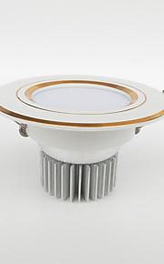 LED-downlights 200-450 lm Varm hvit / Kjølig hvit / Naturlig hvit / Rød / Blå / Gul / Grønn / Rosa Høyeffekts-LED Dimbar / DekorativAC