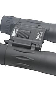 JinjuLi 10X25 FMC Green Film + Blue Film Waterproof Binoculars Telescope