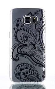 cassa del telefono la metà del modello di fiore TPU materiale per Galaxy S4 / s4mini / S6 / S6 bordo / bordo S6 plus / S7 / bordo s7
