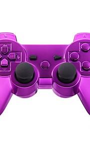 consola de juego del gamepad del bluetooth inalámbrico para PS3 Goldplated (multicolor)