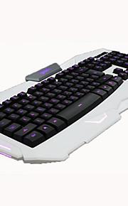 abs motospeed ergonomisk design 7 ledde färg bakgrundsbelysning Gaming Keyboard drivs via USB för stationär dator