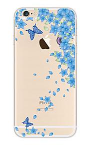 Kakashi litt frisk serie tpu maleri myk sak for iPhone 6s / 6/6-ere pluss / 6 pluss (evig kjærlighet)