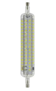 10W R7S LED-kornpærer T 120 SMD 2835 800 lm Varm hvit / Kjølig hvit Dekorativ / Vanntett AC 220-240 V 1 stk.