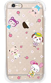 kakashi dierlijk patroon TPU schilderen airbag Hoogte- zachte hoes voor de iPhone 6s / 6 / 6s plus / 6 plus (chiken)
