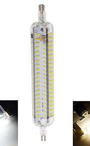 10W R7S LED-kornpærer T 152 SMD 4014 800 lm Varm hvit / Kjølig hvit Dekorativ / Vanntett AC 220-240 V 1 stk.