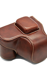 NX500 Camera Case (Crazy Horse Leather) For Samsung NX500 (Black/Brown/Coffee)