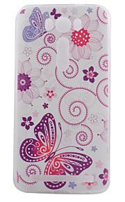 TPU materiaal vlinder geschilderd patroon zachte telefoon geval voor asus zenfone max zc550kl