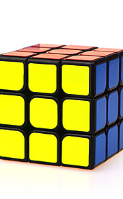 Rubiks kube IQ Cube Yongjun Tre Lag Hastighed Glat Speed ​​Cube Magic Cube puslespil Sort Fade ABS