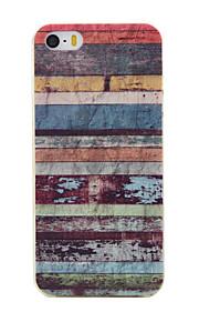 TPU material färgrandmönster mjuk telefon fallet för iphone5 / 5s / se