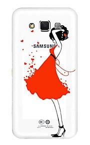 z powrotem Other Kreskówka TPU Měkké Skrzynki pokrywa Dla Galaxy E7 Huawei Ciesz 5