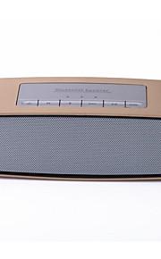 fordonsindustri levererar gyllene bärbara bluetooth-högtalare kort mini stereo radio